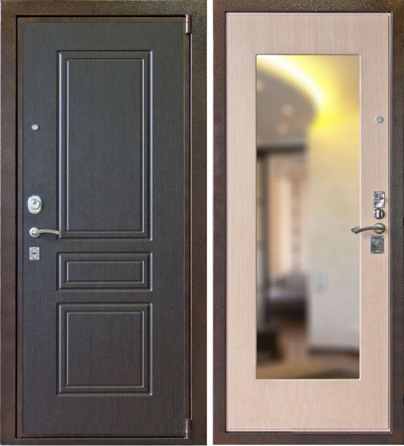 металлическая входная дверь от изготовителя